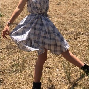 Anthropologie Dresses - EUCAnthropologie dress with tie belt M/L